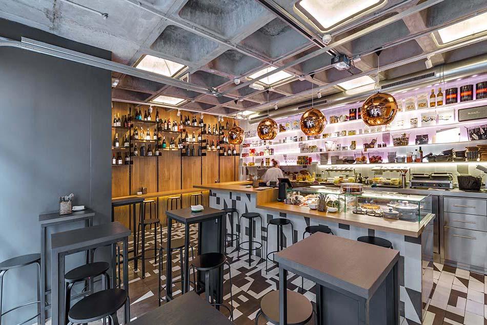 reforma de restaurante Abarrote