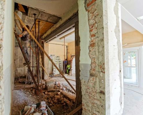 Reforma de una casa